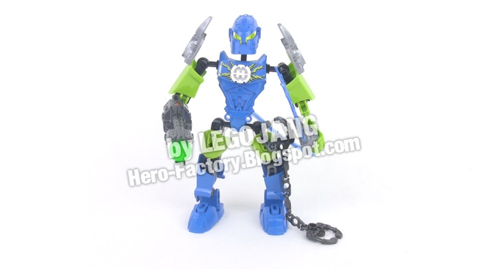 lego hero factory surge series 4 set review breakout