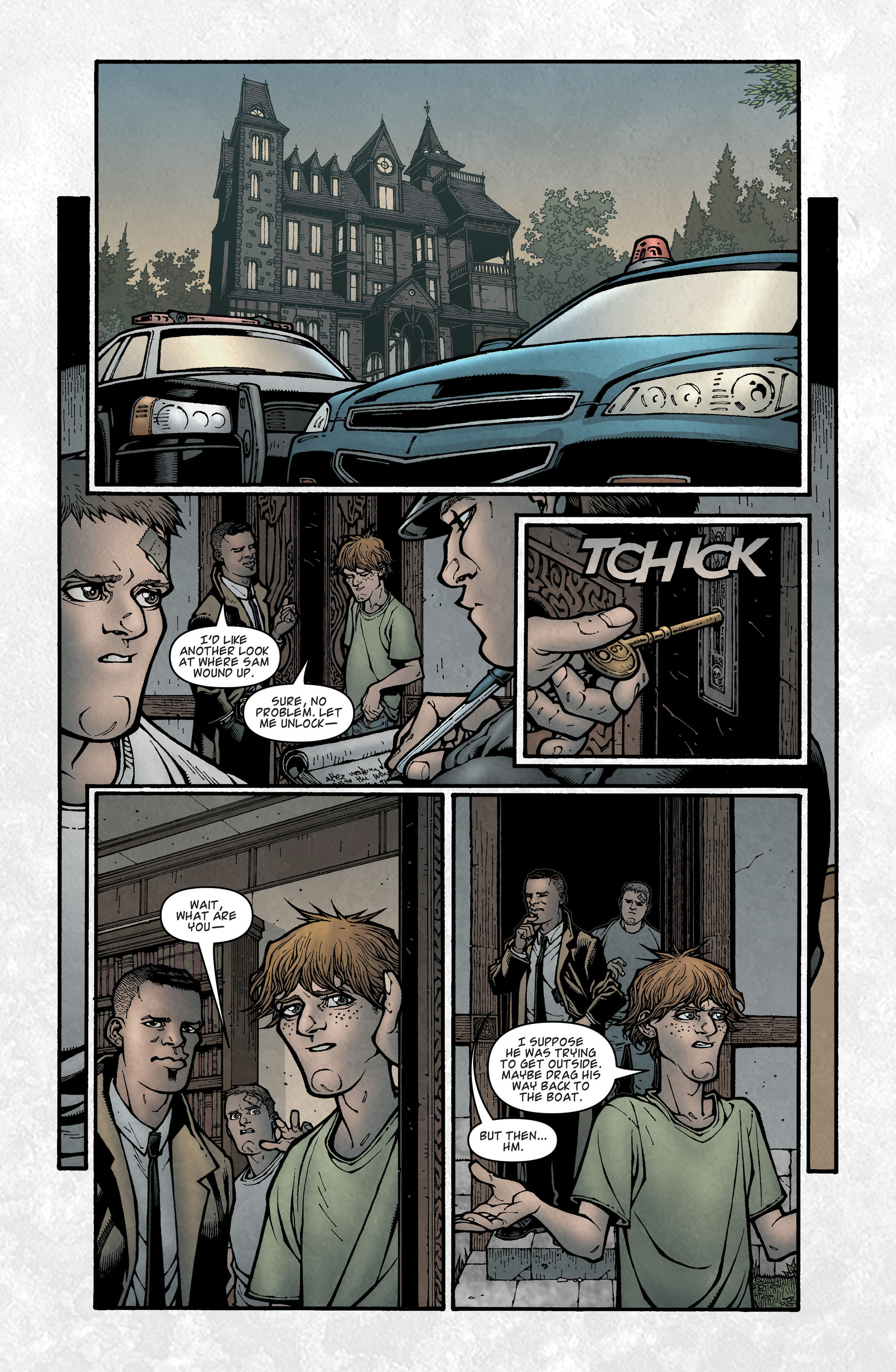 Locke & Key (2008) Issue #6 #6 - English 31