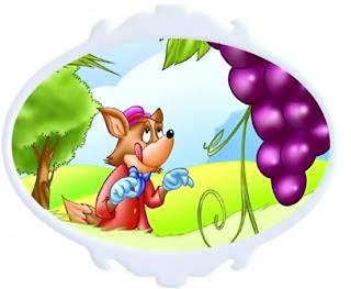 Fábula Infantil: A raposa e as uvas, de Monteiro Lobato