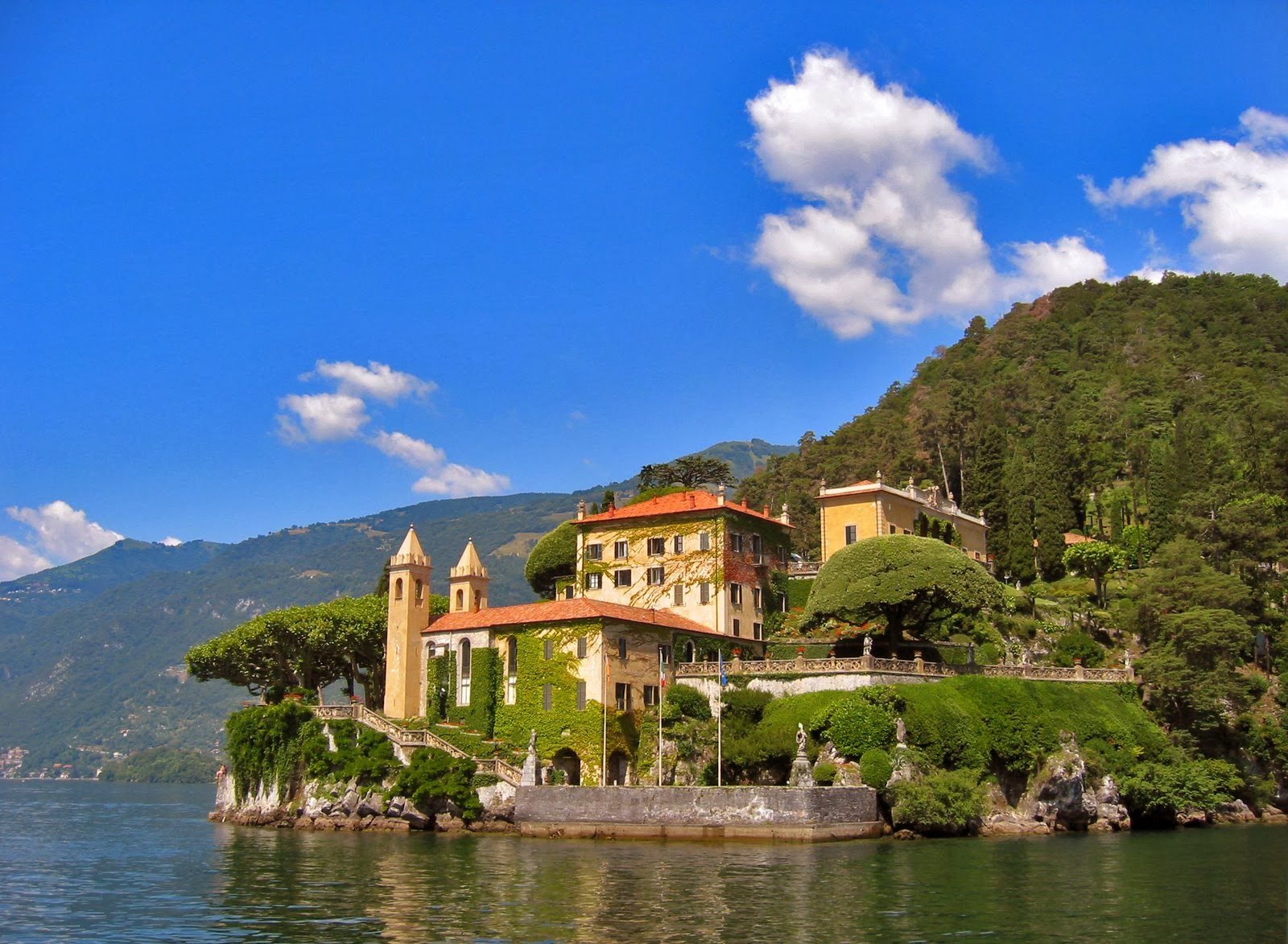 Villa del Balbianello, Lenno Como, Italy: