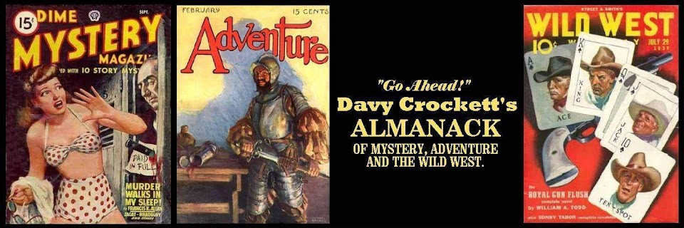 Davy Crockett's Almanack of Mystery, Adventure and The Wild West