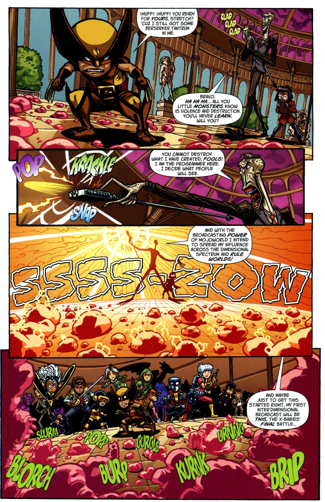 Read online X-Babies comic -  Issue #3 - 23