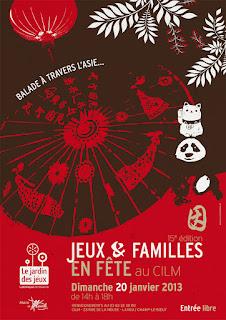 Affiche Jeux & Familles en Fête