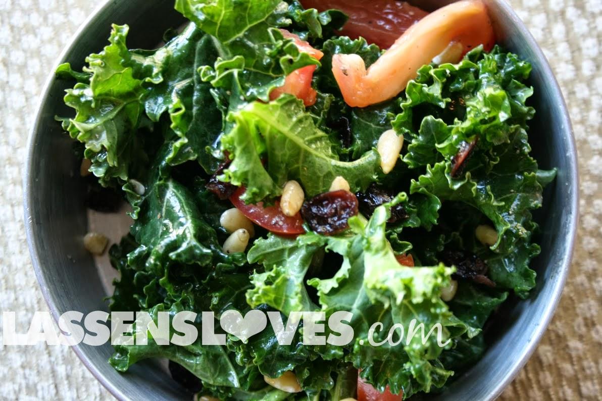 lassensloves.com, Lassen's, Lassens, raw+kale+salad, kale+salad