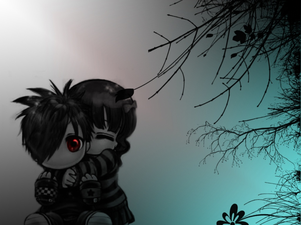 Sweet Love Animation Wallpaper : Emo crys Wallpaper Free Download Wallpaper DaWallpaperz