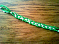 Friendship Bracelet X Pattern2