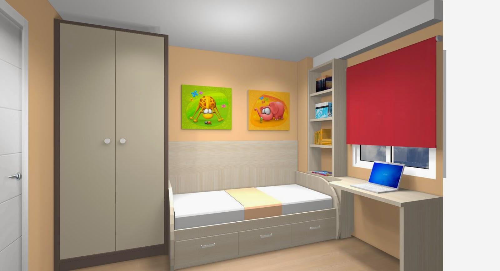 5 premisas para amueblar los dormitorios juveniles - Como amueblar una habitacion juvenil pequena ...