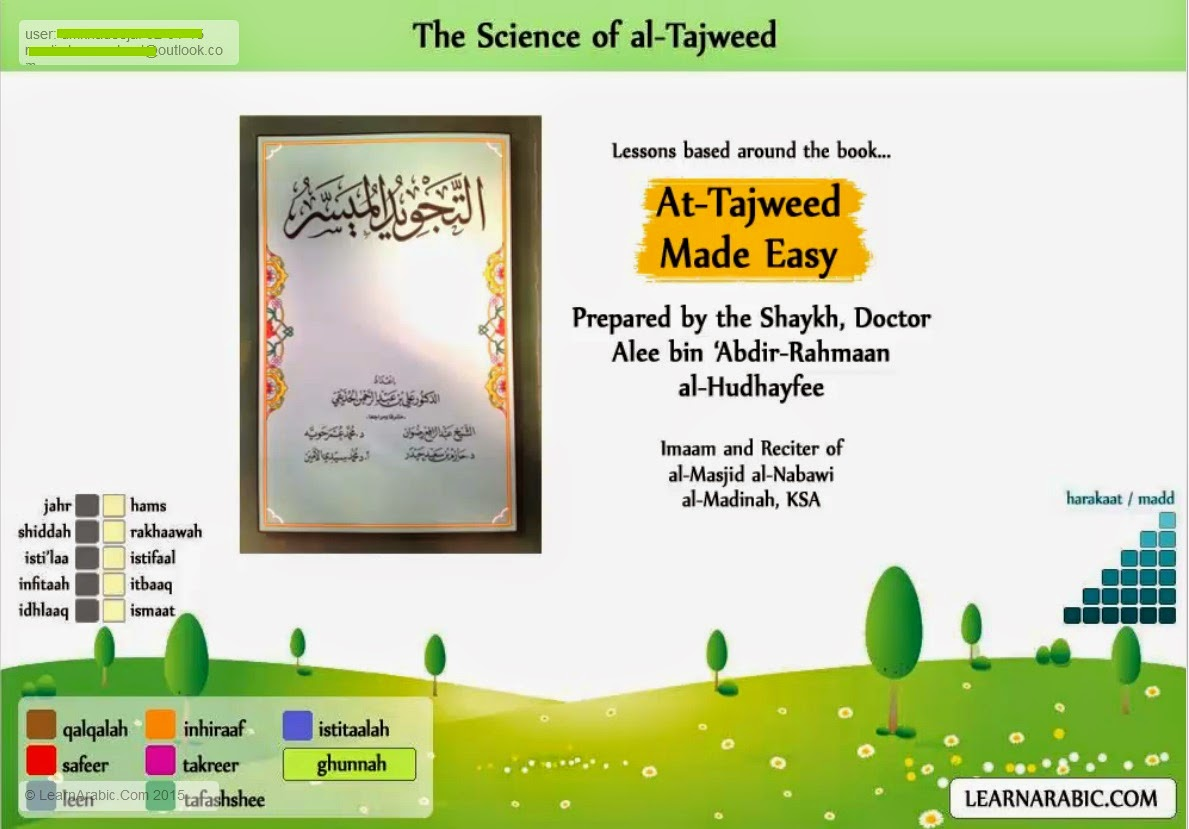 learn arabic .com tajweed review