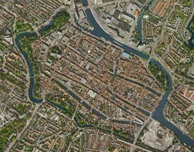 Alkmaar desde Google Earth