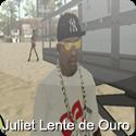 Óculos Juliet Lente de Ouro