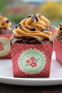 Cupcakes choco-...