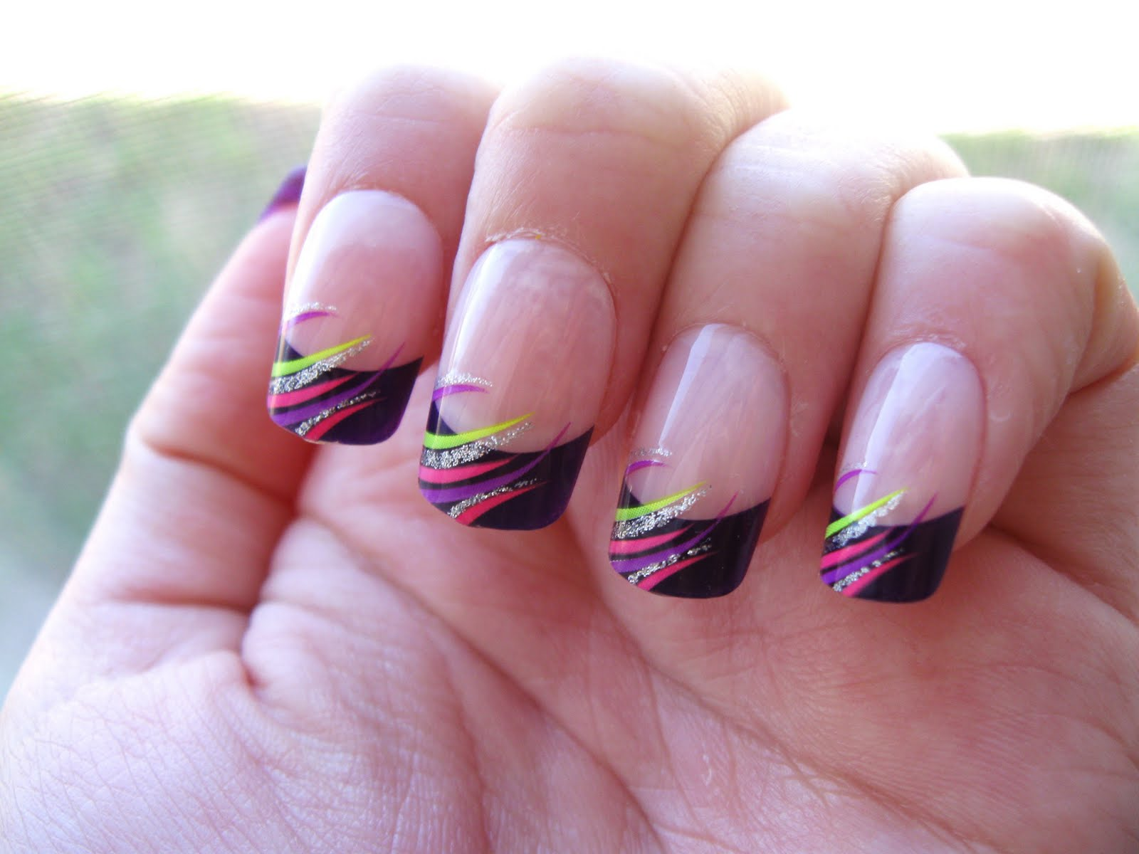 Simply Autumn Rush Kiss Catwalk Glue On Nails Designs From Ny