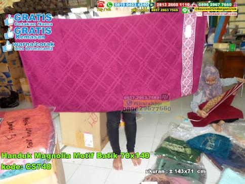 Handuk Magnolia Motif Batik 70x140