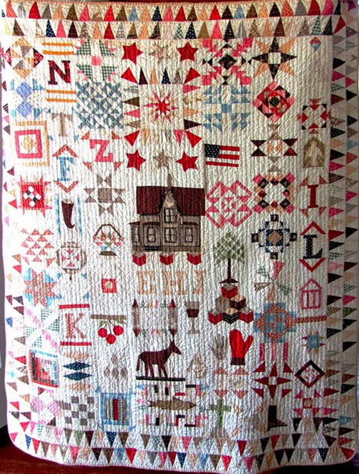 Elbe Herbert Johnson's Sampler Quilt