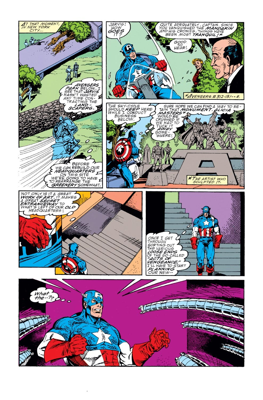 Captain America (1968) Issue #368 #301 - English 5