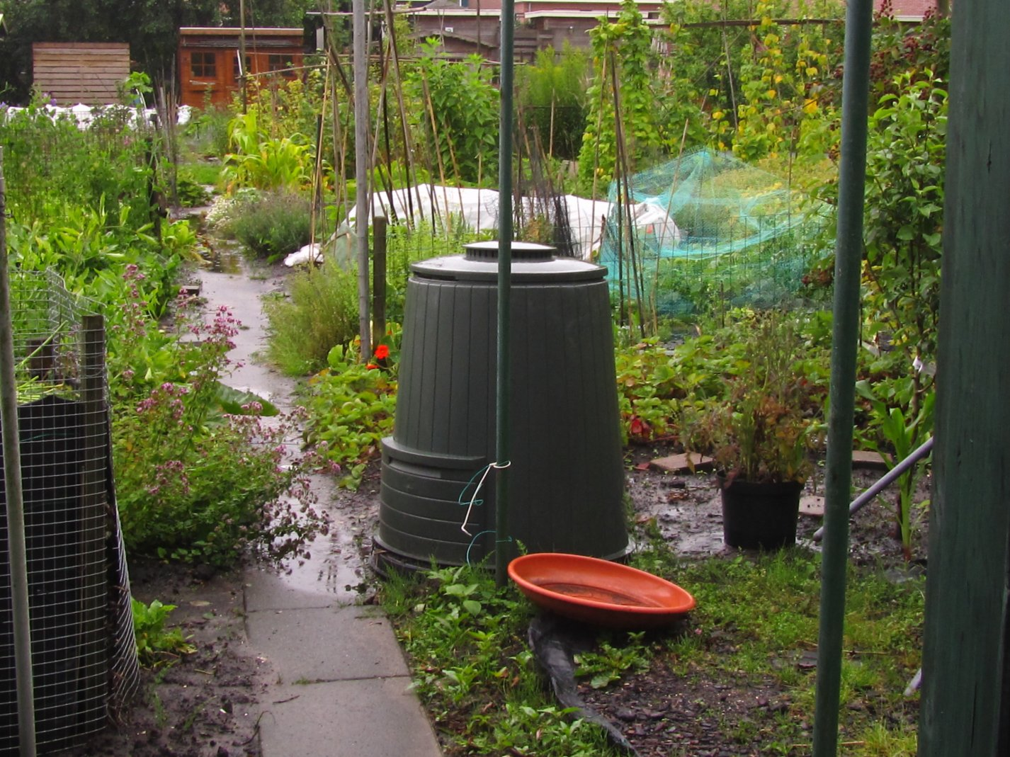 Hoe krijg ik mijn tuin minder nat - Hoe amenager tuin ...