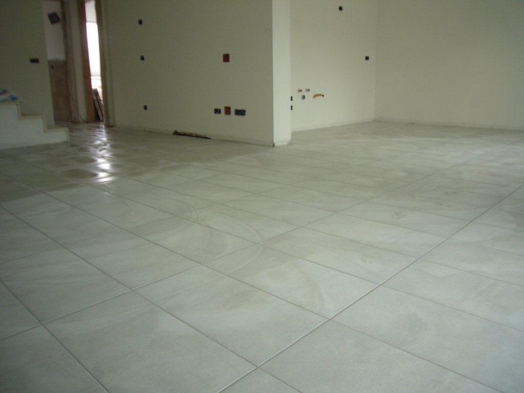 Pavimento su piano terra open space gabbatore mattia - Posa piastrelle su pavimento radiante ...