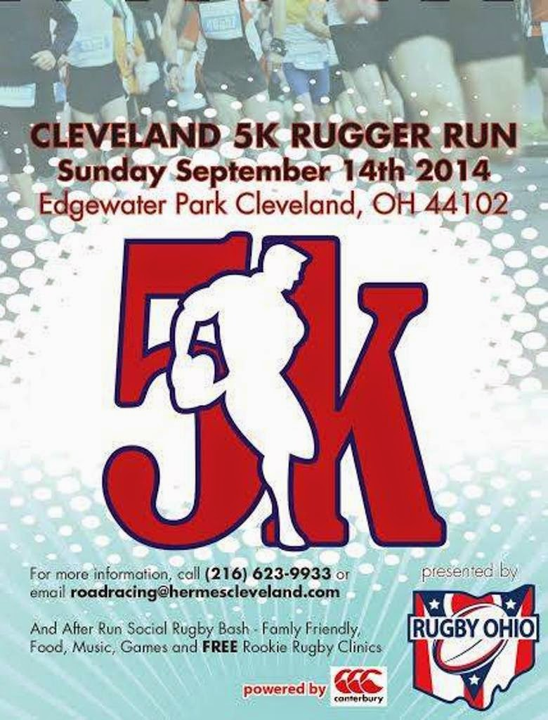 5K Rugger Run Registration Information