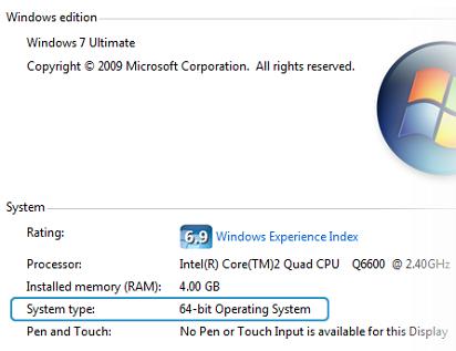 cara mengetahui 32 bit atau 64 bit di windows xp,cara mengetahui 32 bit atau 64 bit pada laptop,