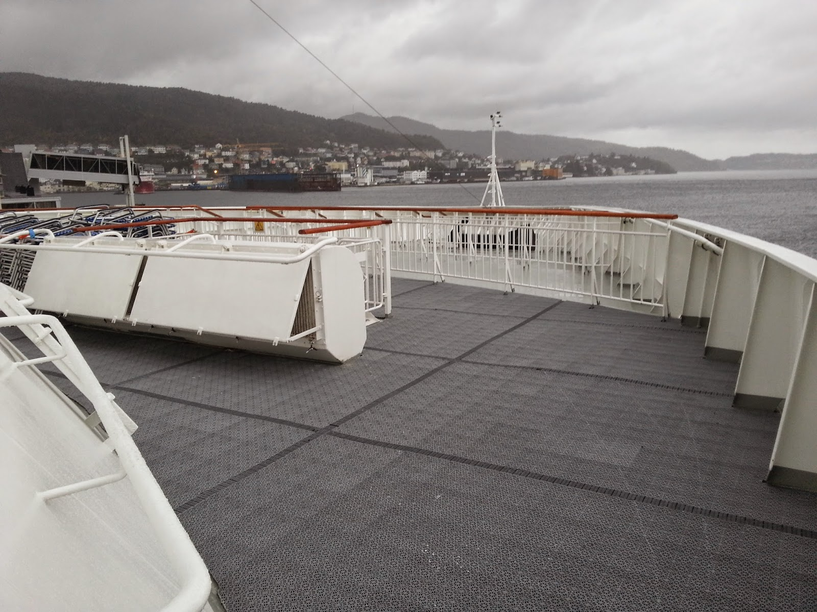 Hurtigruten MS Finnmarken - Bow Deck and Viewing Platforms