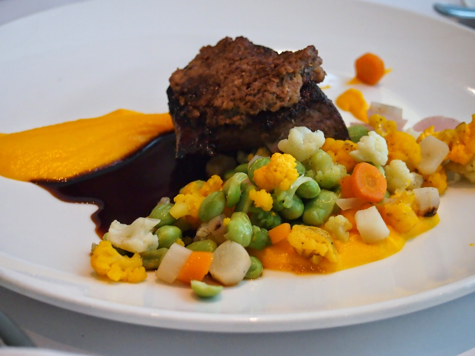 Dining at Musee des Beaux Arts Montreal Liver