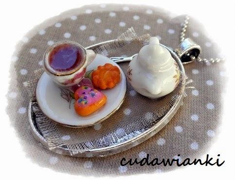 Witam wiosnę kawą i ciachami :)