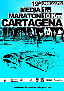 Media Maratón Cartagena 2012.