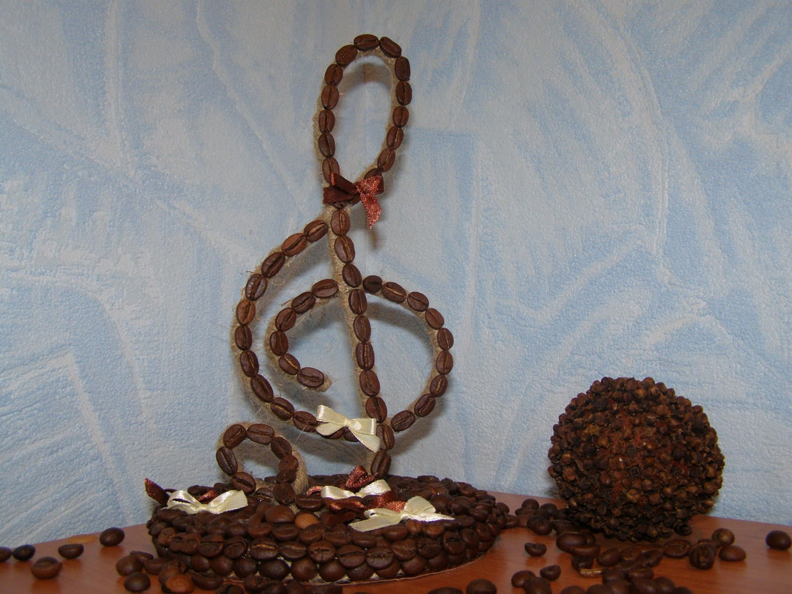 Поделка скрипичный ключ своими руками