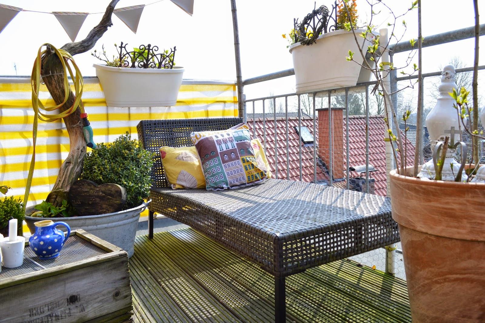 balkongestaltung, Gartenarbeit ideen