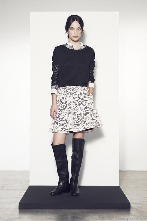 Vestidos invierno 2015 moda mujer Clara.