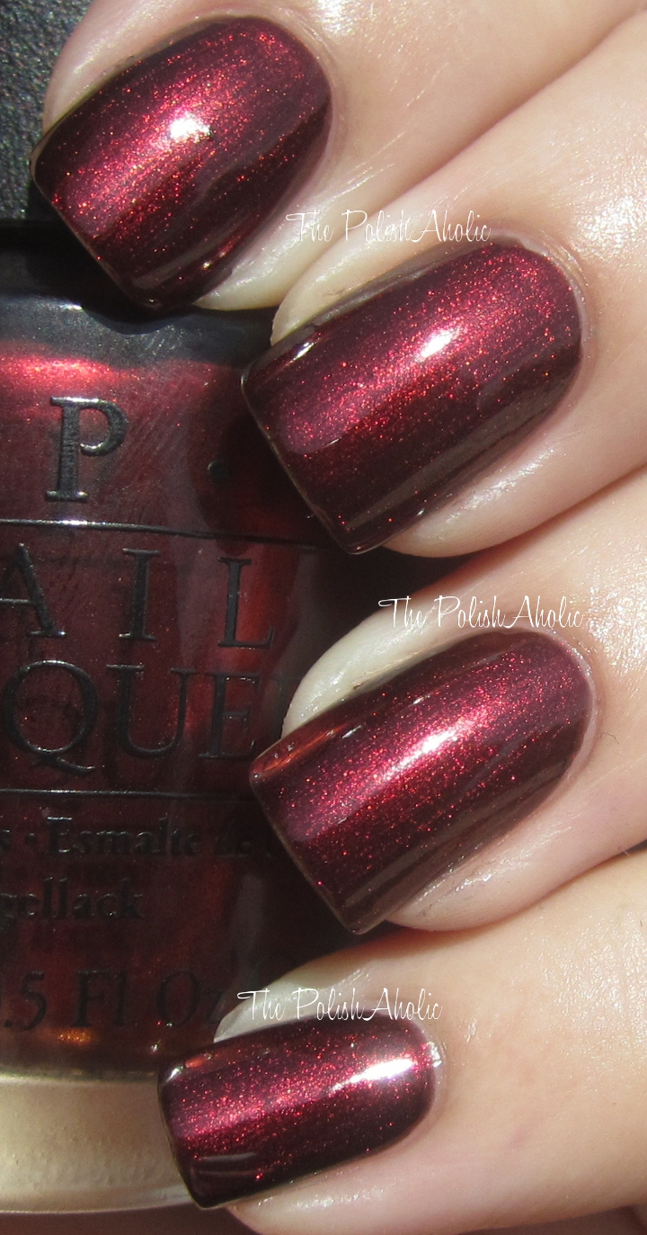 The PolishAholic: OPI Fall 2012 Germany Collection Swatches!