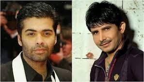 Kamal R Khan with Karan