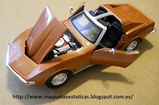 chevrolet corvette 1970 Maisto 1:24