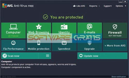 antivirus gratis - AVG Antivirus 2013