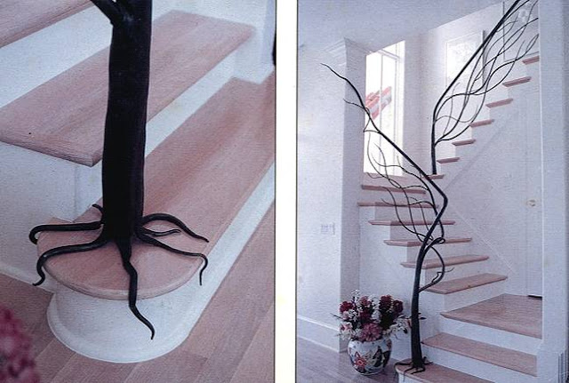 ESCALERA ARBOL by escalerasbonitas.blogspot.com