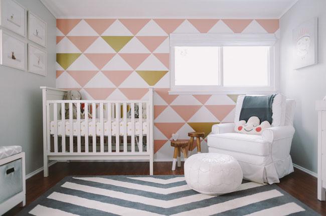 Vinilos para la pared de la Habitación Infantil, cuarto del bebe, Elzzia, habitación del bebe, lever du soleil, Ourense