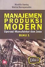 toko buku rahma: buku MANAJEMEN PRODUKSI MODERN, pengarang murdifin haming, penerbit bumi aksara