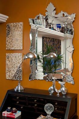 0 Espelhos venezianos para a casa nova...!
