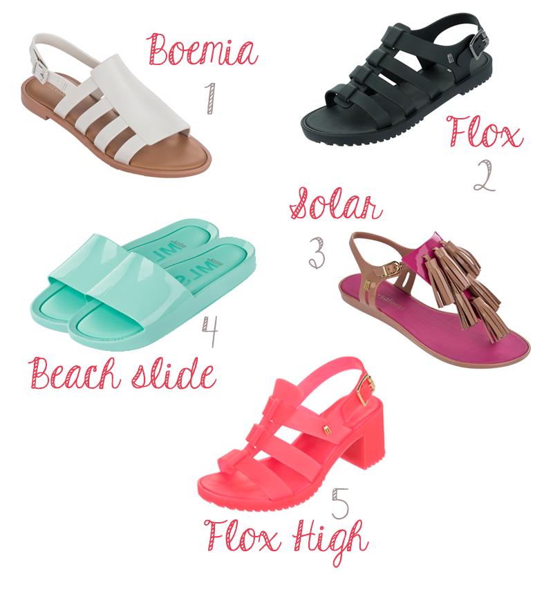 melissa coleção wanna be carioca sandálias plástico moda fashion shoes tendencia estilo verão summer rio de janeiro 2016