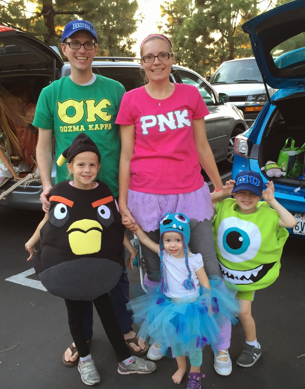 chadwicks' picture place: monsters university family theme halloween
