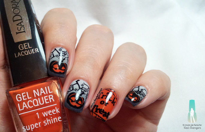 Haunted pumpkin | nailavengers