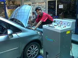 Flushing AC Mobil