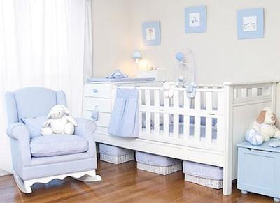 Dormitorio Feng-Shui colores bebe