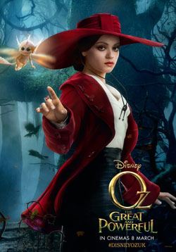Oz The Great And Powerful 2013 poster