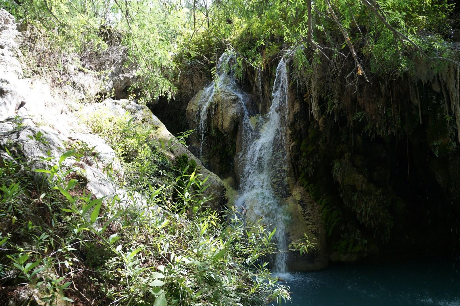 Pretrip acampada en cascadas de san agust n ahuehuetla for Cascada par