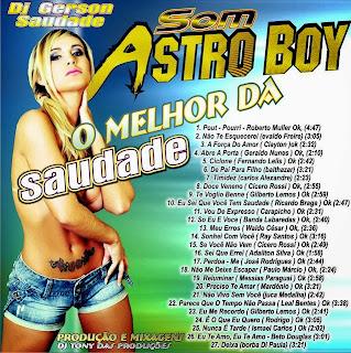 CD ASTRO BOY ( SAUDADE )