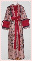 model+baju+gamis+batik Contoh Model Baju Gamis Modern Terbaru 2014 Baru