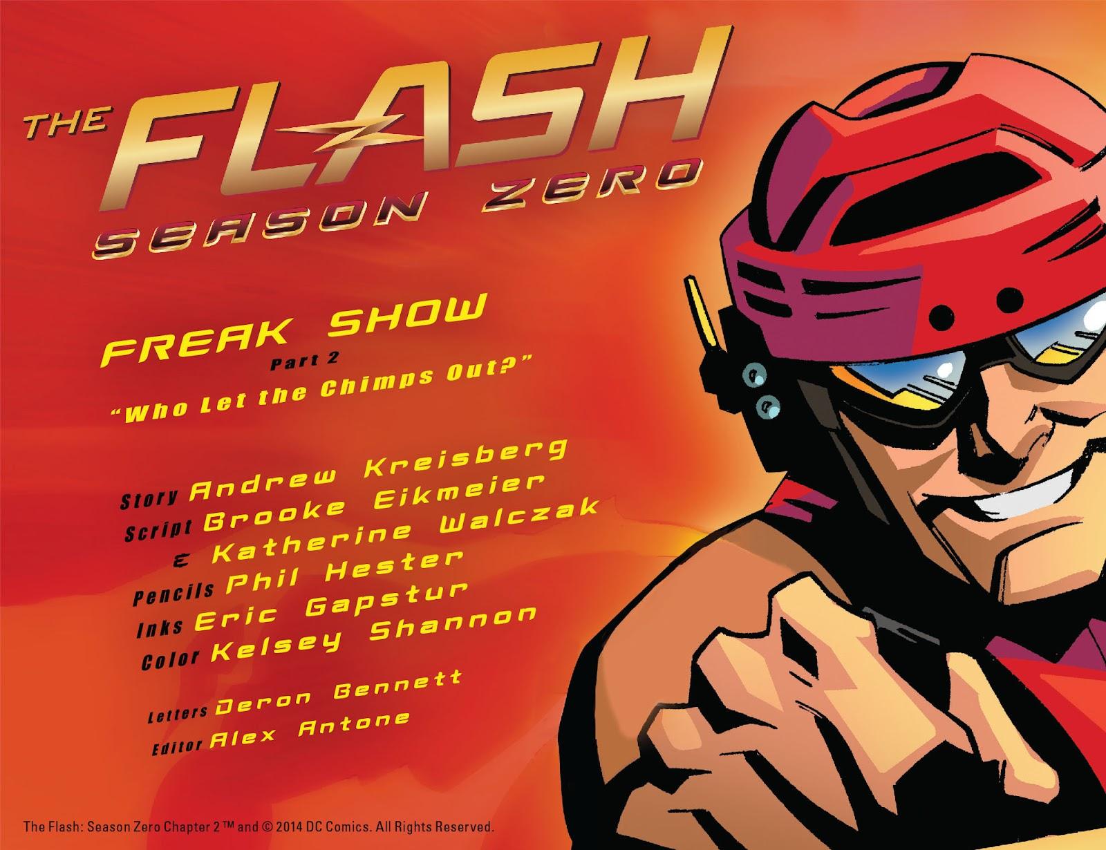 The Flash: Season Zero [I] Issue #2 #2 - English 2