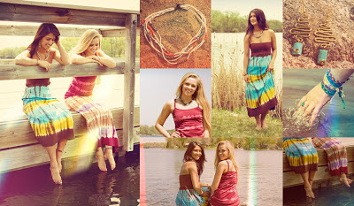 summer collage 2 - Summer Bliss: Soul Flower's Summer Lookbook