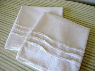 Tucked Dishtowels Tutorial via Miss Abigails Hope Chest